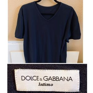 Dolce & Gabbana Intimo V-Neck T-Shirt Tee 3XL 2XL